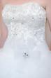 Brides dress detail