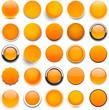 Round orange icons.