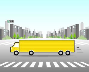 トラック 広告