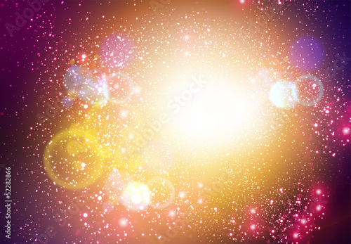 Abstract Space Vector Background