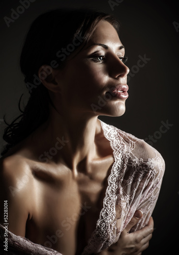 Gorgeous sensual woman