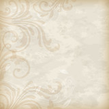 Vintage floral background