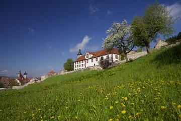 Schloss Wilhelmsburg, Schlossterrassen, Schmalkalden, Thüringen