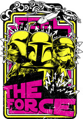 The force © Tshirt-Factory.com