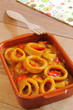 Calamares en salsa con pimiento