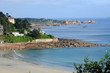 the beach of Trestraou in Perros Guirec