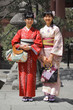 Traditional Asian Women in Kimono