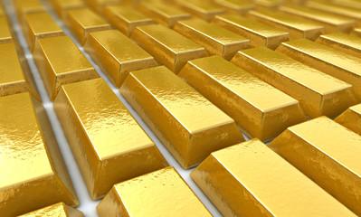 Goldbarren - Konzept Wertanlage