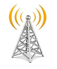 tower of wireless equipment
