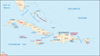 Greater Antilles map