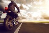 Fototapety Motorbike on Highway