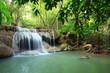 Paradise Waterfall in Kanchanaburi, Thailand.