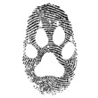 FINGERPRINT PAW ICON