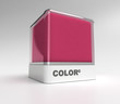 Magenta color block
