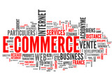 E-Commerce (tag cloud français)