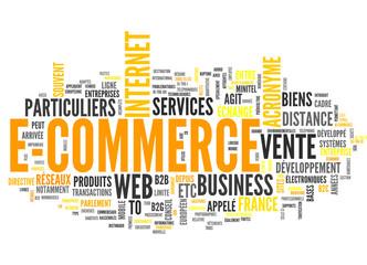 E-Commerce (tag cloud français)