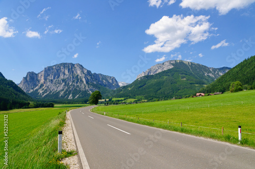 The Scenery of the Central Austrian Alps