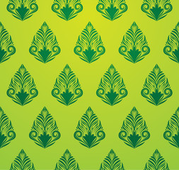 Green Pattern Wallpaper