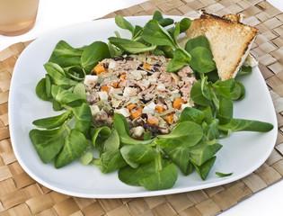 insalata tonno e carciofi