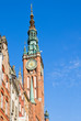 Tower of Gdansk city hall