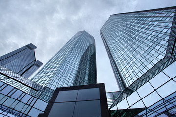 Skyscrapers of Frankfurt