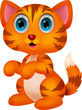 Cute cat cartoon
