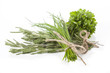 Rosemary, parsley and chives