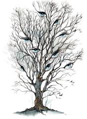 eyes tree