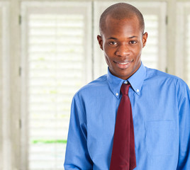 African young businessman portrait