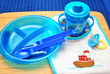 Blue Child Feeding Utensils