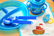 Feeding Utensils for a Baby Boy