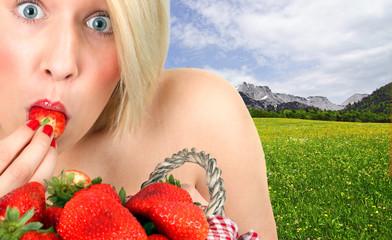 Süße Früchte naschen