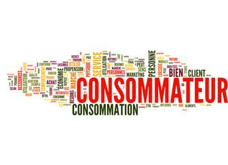 Consommateur (tag cloud français)