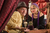 Fortune Teller and Skeptical Man poster