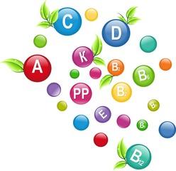 Разноцветные витаминки