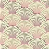 Abstract shell seamless pattern