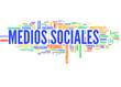 Medios sociales (tag cloud español)