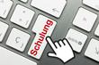 Schulung Tastatur finger