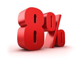 8 Prozent