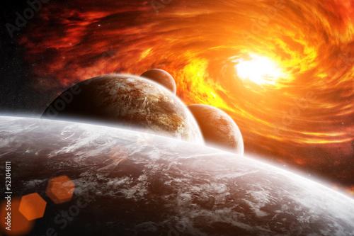 Apocalypse planetscape - 52304811