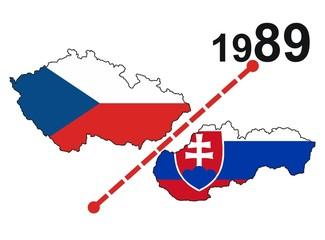 czecho-slovakia (Separation - year 1989)