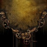 Steampunk Background