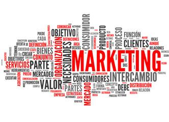 Marketing (tag cloud español)