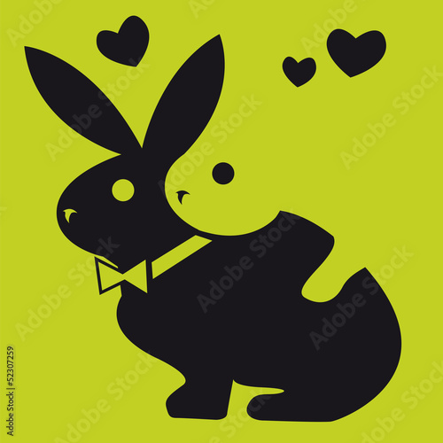 lapin,symbole,logo,sexe,animal,reproduction,humour,