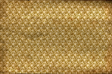 Antique gold pattern