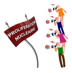 Militer contre la prolifération nucléaire