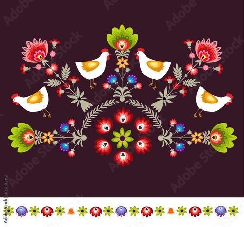 polski haft ludowy © bridzia2