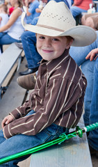 Young Cowboy with a Ninja Sword.