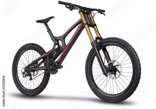 Leinwandbild Motiv Mountain bike