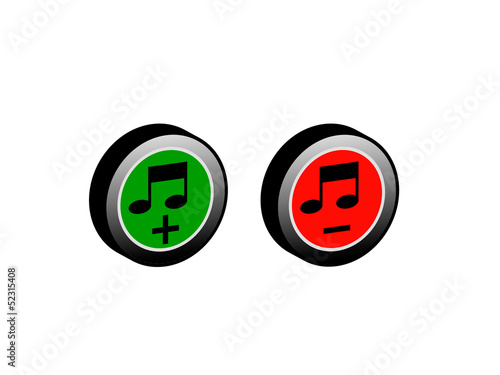 Button music.